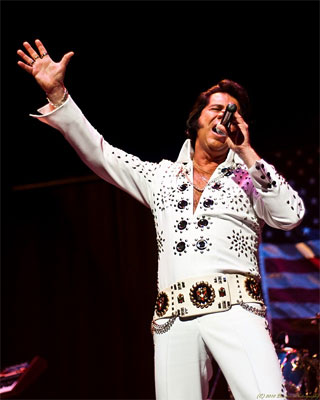 "Brad Crum Elvis Impersonator in PA ""The Soul and Sound of a Legend"""